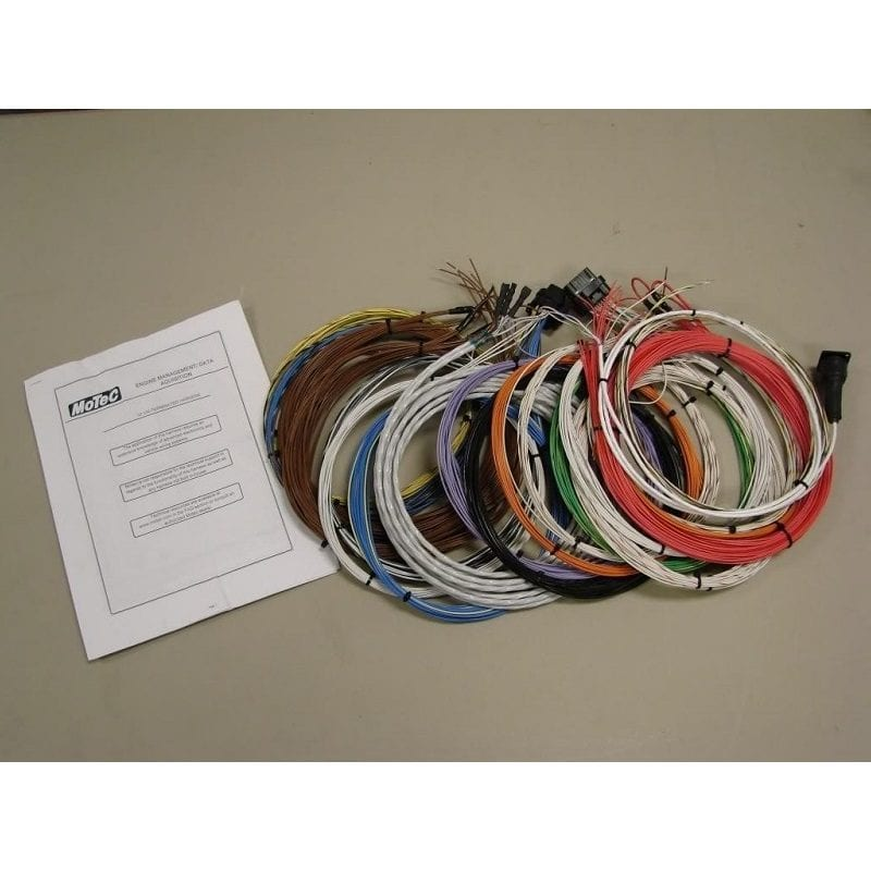 This is a very high quality un-termed wiring harness utilizing Mil Spec 18 AWG Tefzel wire (MIL-22759/16-18 ). The comms lead cam trigger lead ...  sc 1 st  Fischer Motorsports : mil spec wiring - yogabreezes.com